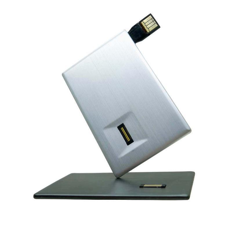 供應卡片式指紋加密U盤 定製各種創意U盤