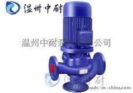 管道式无堵塞排污泵GW型