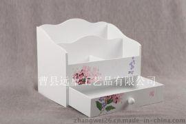 厂家直销订做  木质化妆品收纳盒