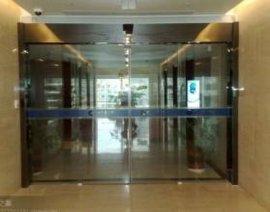厂价销售批发安装、维修惠州玻璃感应门,快速门,伸缩门