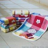 毛巾厂家直销 纯棉四层纱布童巾 婴儿宝宝儿童洗脸小毛巾