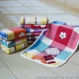 毛巾廠家直銷 純棉四層紗布童巾 嬰兒寶寶兒童洗臉小毛巾