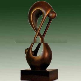 玻璃钢雕塑  人物抽像雕塑 树脂仿铜