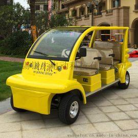 苏州6座电动观光车,校园巡逻车,小区安保电瓶车
