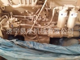 现代R450-7挖掘机QSM11发动机缸盖喷油器燃油泵水泵