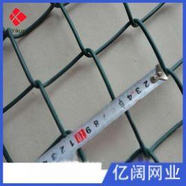 专业生产体育场围栏网 包塑勾花网 PVC围栏网 菱形孔围栏网