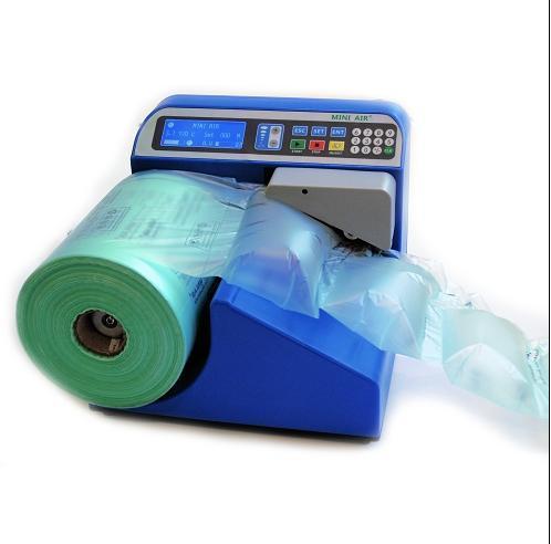 成都禾绳 供应进口气垫设备MINI AIR连续缓冲气囊充气填充袋制造机