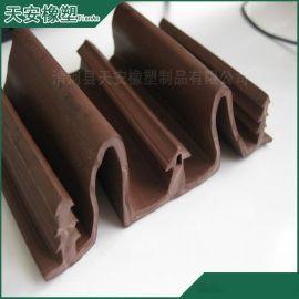 供应各种异性PVC橡塑密封条 加工工业专用高回弹高密封橡塑条