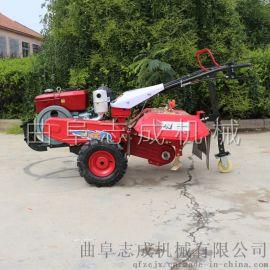 志成176柴油水冷型微耕机 大棚管理旋耕机