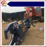 现代挖掘机拆解报废汽车,鹰嘴剪,剪切报废汽车