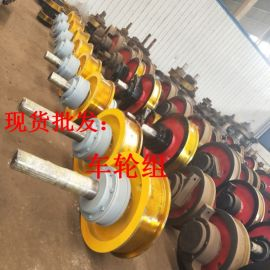 Ø700×150铸钢被动车轮组 国标行车轮厂家定制