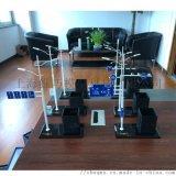 集成式多杆合一通信鐵塔禮品模型金屬通訊杆塔 紅綠燈