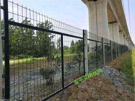 铁路栅栏网片、铁路防护金属网、铁路沿线隔离网