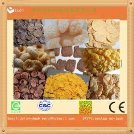 即食早餐生产线 玉米片生产线 早餐谷物机