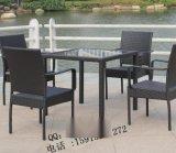 广东编藤酒吧桌椅 仿藤就把桌椅 休闲组合桌椅