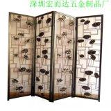 厂家生产 不锈钢屏风 酒店大堂玫瑰金屏风装饰定制