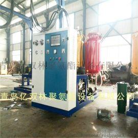 山东供应聚氨酯发泡机 **聚氨酯设备  高密度聚乙烯夹克保温管浇注设备