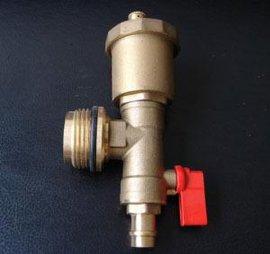 分水器末端自动排气阀 带快速定位功能排气阀