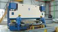 数控液压折板机 4米液压弯板机