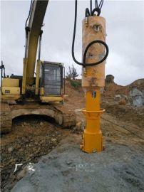 广西河池工地硬石头专用大型岩石劈裂机