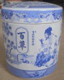 實惠陶瓷藥罐加工廠訂單定做陶瓷藥材罐定製成功案例參考