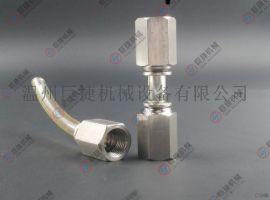 PCF 不锈钢内螺纹直通 不锈钢快插直通 304尼龙管快插接头