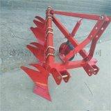 拖拉機懸掛式4鏵犁 小型4鏵犁  40馬力拖拉機帶420鏵犁 農用耕作四鏵犁