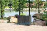 户外防腐木花箱塑木花箱花槽花架广场公园定制花箱
