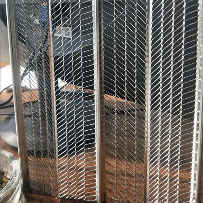 镀锌有筋扩张网-筑浆用钢网 轻钢模网