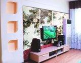 佳木斯墙体手绘电视背景墙壁画