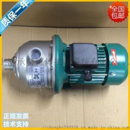 德国威乐水泵MHI203不锈钢离心泵空调热水循环泵增压泵