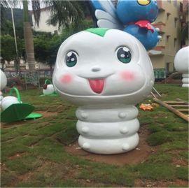 商场卡通动物雕塑、广东玻璃钢动物雕塑厂家