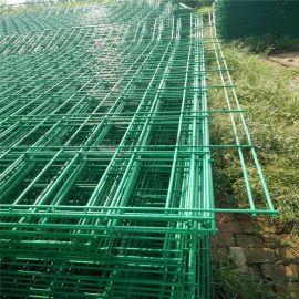 护栏网 山东公路护栏网 浸塑双边丝护栏网厂家
