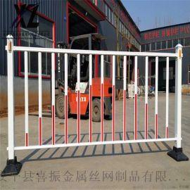 县城道路护栏、现货道路护栏、市政护栏栅栏