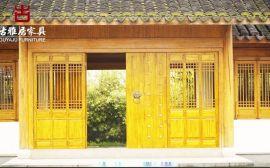 成都仿古门窗厂家,门窗做工精细品质有保障