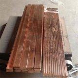 厂家供应导电T2紫铜排 红铜排 纯铜排 矩形铜排
