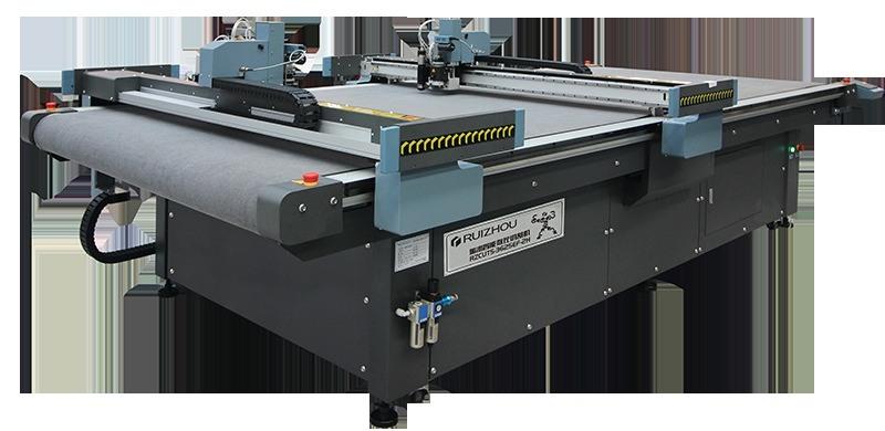 厂家直销 双头皮革真皮PU切割机 KT板切割机 自动模切机 裁床