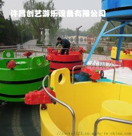 转转桶水上游乐设备儿童打水生产厂家