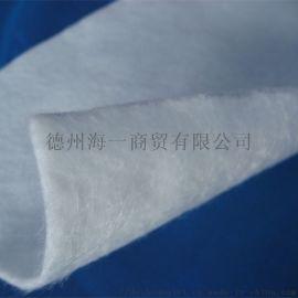 生产短丝**非织造土工布 公路路面养护涤纶土工布