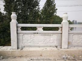 河北高邑走廊石栏杆石头石护栏