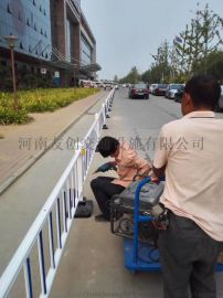 pvc隔离栏 市政道路护栏 马路护栏 路边隔离栏