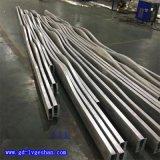 浙江造型铝方通 异形铝方通吊顶 波浪形铝板定制