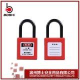 安全挂锁尼龙锁梁绝缘微型工业红色锁BD-G300