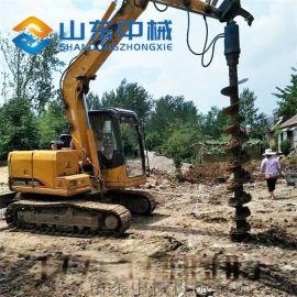 挖掘机螺旋钻进口液压马达动力足效率高