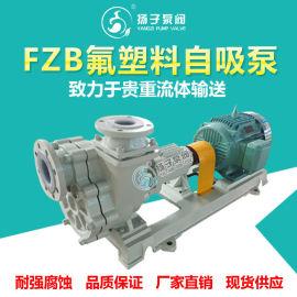 FZB型氟塑料自吸泵 耐腐蚀自吸泵 耐酸碱自吸泵