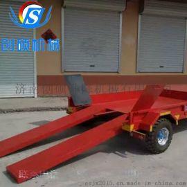 生产厂家供应平板车 平板拖车 行李转运车