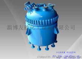 K型搪玻璃反应釜-反应设备选型-友胜化工
