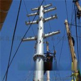 35KV耐张杆,13米10KV电力钢杆及终端杆