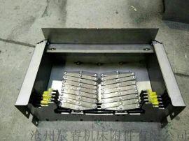 专业维修钢板防护罩,伸缩式导轨钢制防护罩