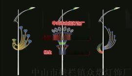 节日图案灯 双向光LED跨街灯 吉祥灯笼灯 街道亮化